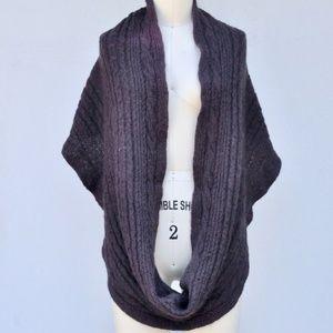 ALL SAINTS SPITALFIELDS Wool Knit Infinity Scarf